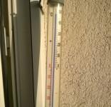 Termometr 50 st. Celsjusza Tuchola 12.09.2016