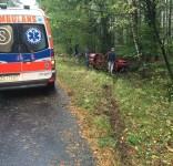 Wypadek Zielonka-Wierzchucin 11.10.2016 1