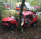 Wypadek Zielonka-Wierzchucin 11.10.2016 3