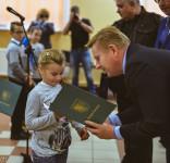 Nagrody konkurs pllastyczny korzystanie z numeru 112 GOK Gostycyn 21.11.2016 -7