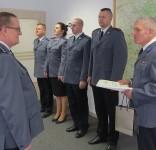 25 lat służby w KPP Tuchola asp. szt. Benedykt Klafetka fot. KPP Tuchola 12.2015 4