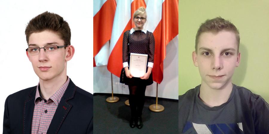 Stypendia PRM dla uczniów ZSLiT Tuchola 11.2016