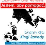 Turniej piłki nożńej na rzecz Kinga Szweda 12.2016 plakat 2