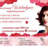 Flat Valentine's Day Background