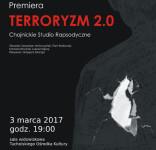 Terroryzm 2.0 Chojnickie Studio Rapsodyczne TOK Tuchola 3.03.2017 plakat