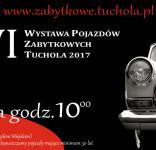 16. Wystawy Pojazdów Zabytkowych w Tucholi 9.07.2017 plakat