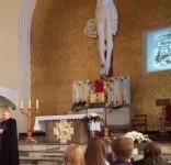 Ks. Konstantyn Krefft wystawa kościół Bozego Ciała Tuchola 9.06.207 fot. nadesłane 1