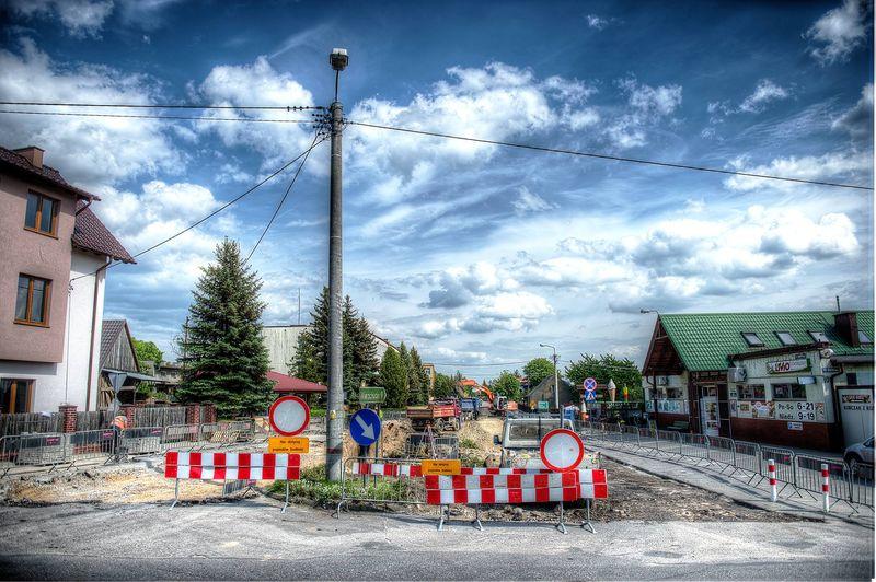 Remont drogi Cekcyn 05.2017 fot. Adam Chmara 3