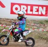Tosia Rogalska wygrała  III rundę Mistrzostw Polski w motocrossie w Strykowie 10,11.06.2017 fot. K. Rogalski 2