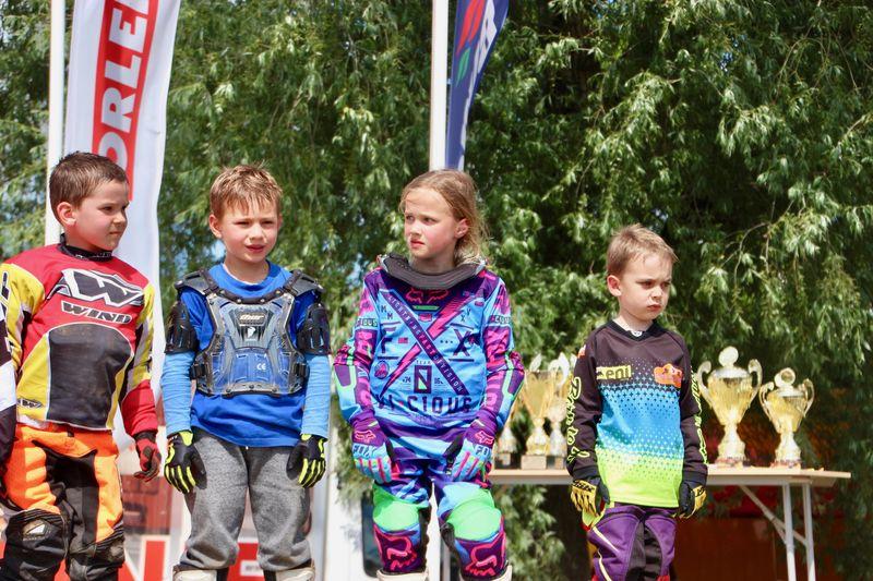 Tosia Rogalska wygrała  III rundę Mistrzostw Polski w motocrossie w Strykowie 10,11.06.2017 fot. K. Rogalski 6