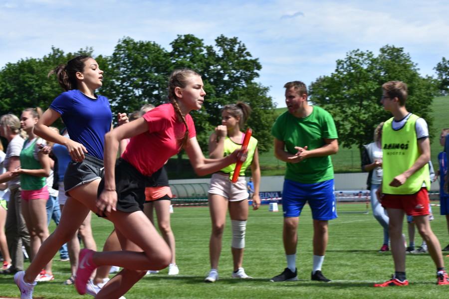XVIII Powiatowe Szkolne Igrzyska Sportowo-Rekreacyjne 2.06.2017 fot. Starostwo Tuchola 6
