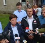 Premier Beata Szydło w Powiecie Tucholskim 19.08.2017 fot. Starostwo Tuchola 2
