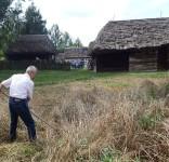 Wizyta w Skansenie w Kłóbce  BTK 6.08 04