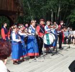 Wizyta w Skansenie w Kłóbce  BTK 6.08 06