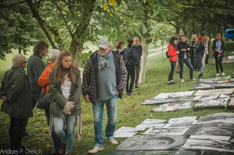Plener malarski  Brda - warsztaty dla Liceum Plastycznego w Bydgoszczy 15.09.2017-28