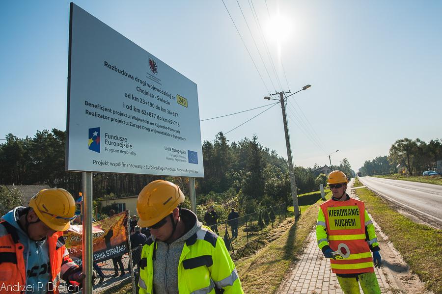 Ropoczęcie przebudowy DW240 Płazowo 29.09.2017-40