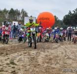 Tosia na zawodach V Rundy Mistrzostw Okręgu Łódzkiego PZM w Cross Country MX Mini 12