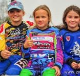 Tosia na zawodach V Rundy Mistrzostw Okręgu Łódzkiego PZM w Cross Country MX Mini 3