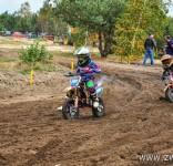 Tosia na zawodach V Rundy Mistrzostw Okręgu Łódzkiego PZM w Cross Country MX Mini 9
