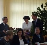 Uroczystość z okazji Dnia Edukacji Narodowej w gminie Lubiewo 10.2017 fot. UG Lubiewo 01