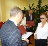 Uroczystość z okazji Dnia Edukacji Narodowej w gminie Lubiewo 10.2017 fot. UG Lubiewo 04