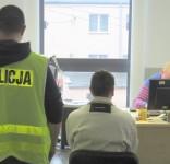 Zatrzymany złodziej 17.10.2017 fot. KPP Tuchola