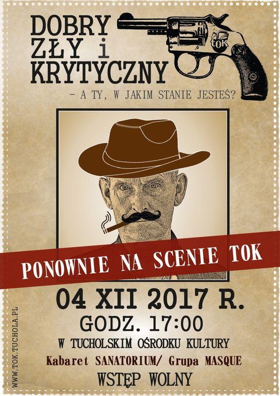 Plakat-PONOWNIE-Dobry, zły i krytyczny 4.12.2017