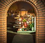Zaduszki w Tucholi 02.11.2107 fot. Andrzej Drelich-14