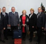 Prezenty dla KPP Tuchola 12.12.2017 fot. KPP Tuchola 3