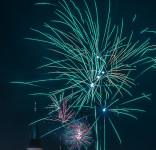 Fajerwerki Tuchola 01.01.2018-8