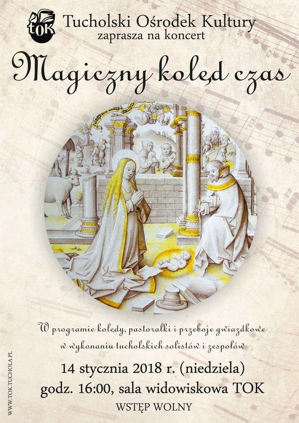 Plakat_Magiczny kolęd czas