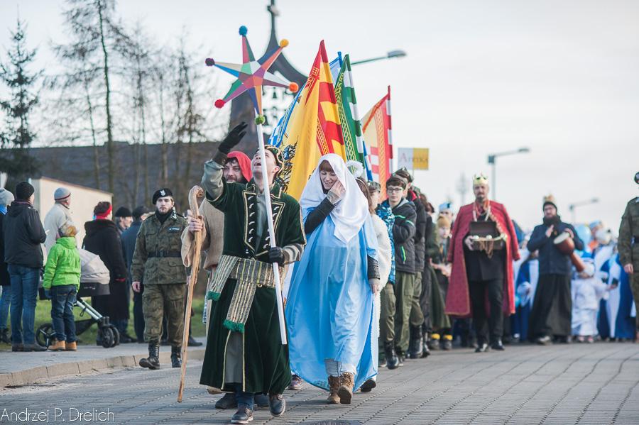 Tuchola Orszak  Trzech Króli 6.01.2018 fot. Andrzej Drelich-11