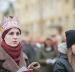 Tuchola Orszak  Trzech Króli 6.01.2018 fot. Andrzej Drelich-54