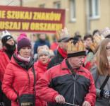 Tuchola Orszak  Trzech Króli 6.01.2018 fot. Andrzej Drelich-60