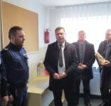 Posterunek policji w Gostycynie po remoncie 02.2018 fot. KPP Tuchola 4