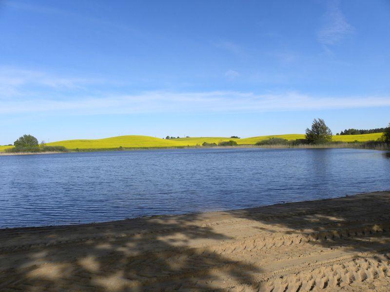 jezioro Czarne gm. Kęsowo fot. UG Kęsowo
