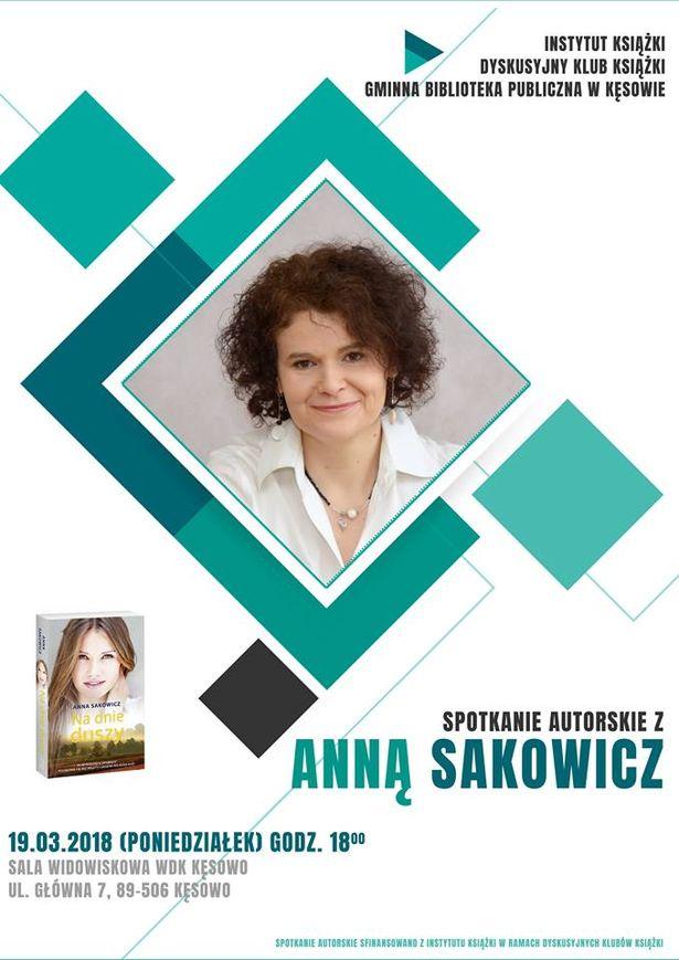 Anna Sakowicz spotkanie WDK Kęsowo 19.03.2018