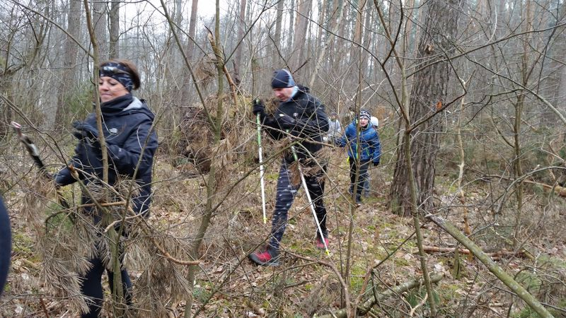 Rajd nordic walking Legbąd 24.03.2018 5