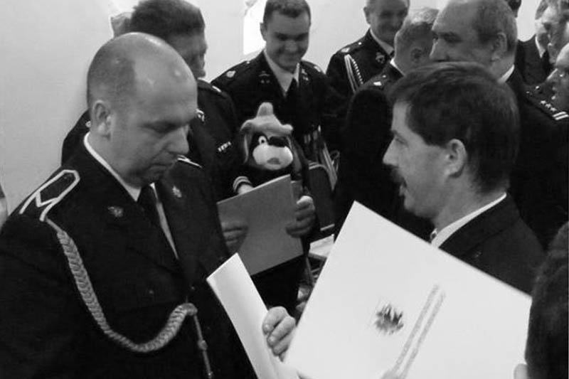 Piotr Jędras fot. OSP Gostycyn