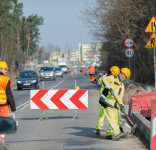 Roboty drogowe Rudzkii Most 13.04.2018-1