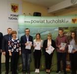 Stypendia starosty tucholskiego 2018 fot. Starostwo Tuchola 6