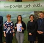 Stypendia starosty tucholskiego 2018 fot. Starostwo Tuchola 7
