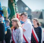 Święto Konstytucji 3 Maja Tuchola rynek 2018-6