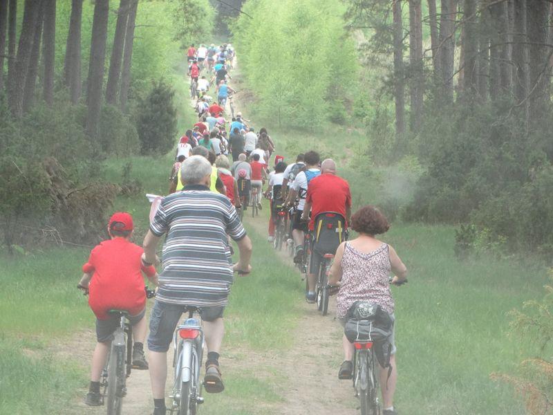 II Rodzinny Rajd Rowerowy pod nazwą 'Uroki wolnej Ojczyzny' Kiełpin 4