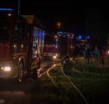 Pożar budynek mieszkalny Kamionka gm. Śliwice 3.05.2018-10