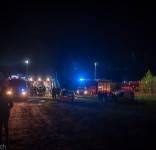 Pożar budynek mieszkalny Kamionka gm. Śliwice 3.05.2018-12