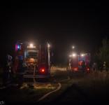 Pożar budynek mieszkalny Kamionka gm. Śliwice 3.05.2018-13