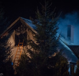 Pożar budynek mieszkalny Kamionka gm. Śliwice 3.05.2018-15