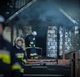 Pożar budynek mieszkalny Kamionka gm. Śliwice 3.05.2018-17