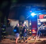 Pożar budynek mieszkalny Kamionka gm. Śliwice 3.05.2018-2